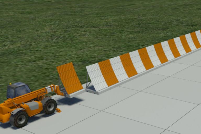 Auckland Jet Blast Fence