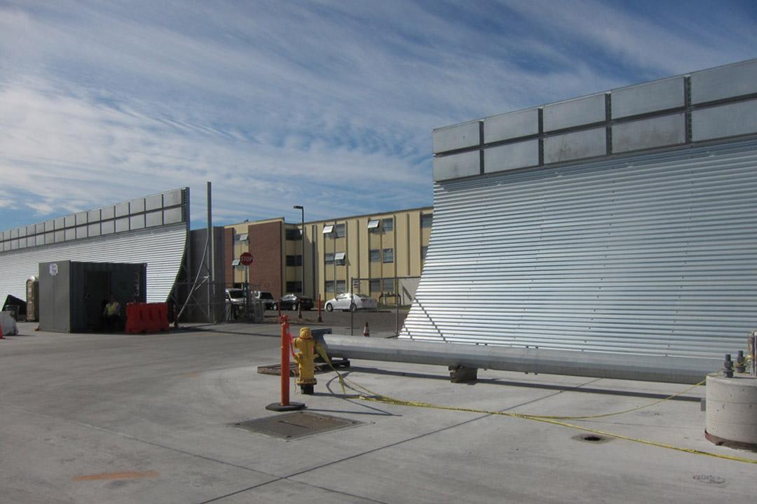 San Diego Jet Blast Noise Deflector