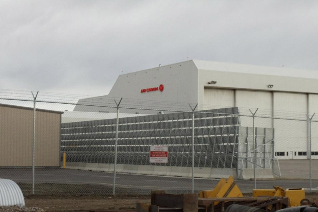 Calgary Jet Blast Wall