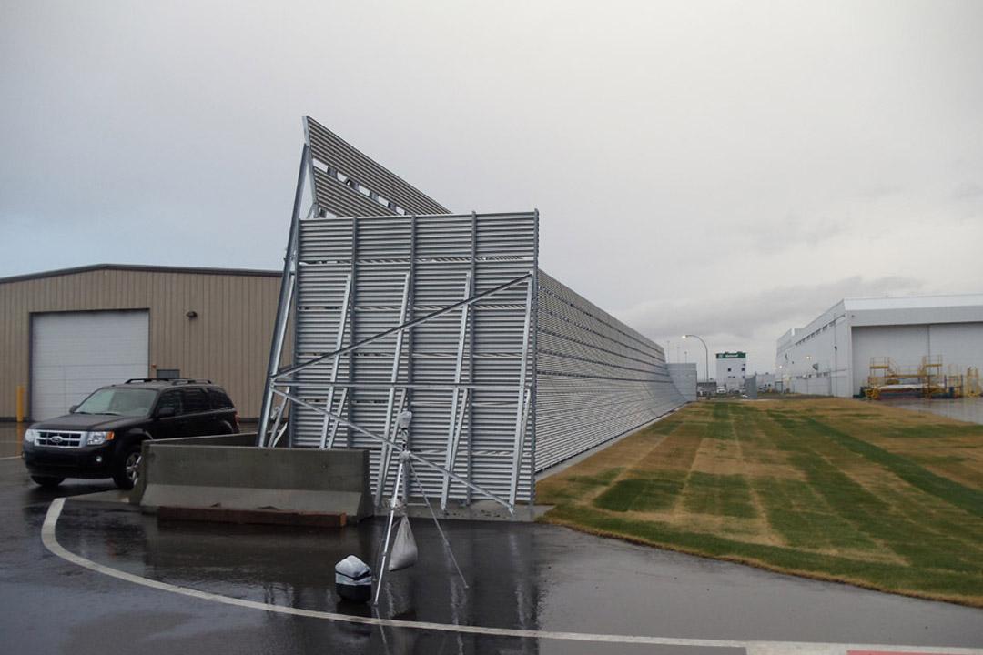 Calgary Jet Blast Fence