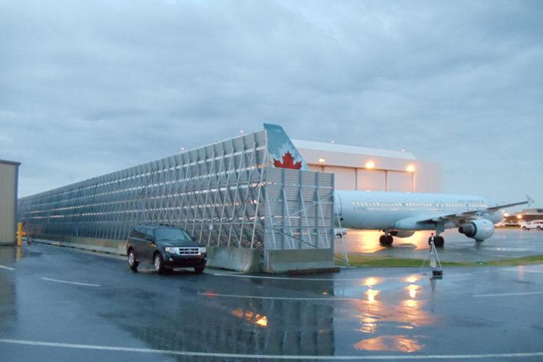 Calgary Jet Blast Barrier