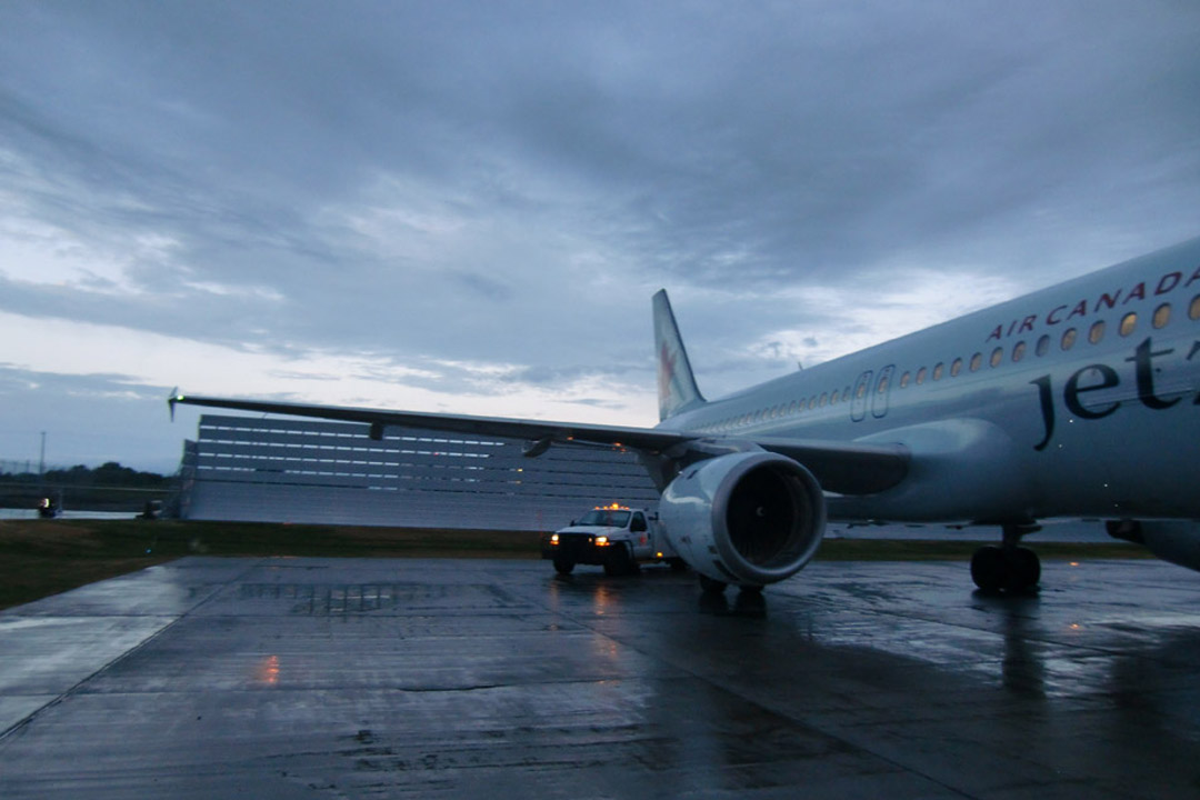 Calgary Jet Blast Deflector