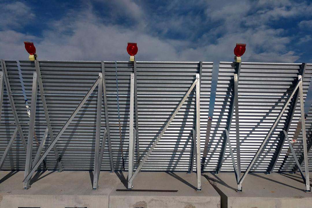 Denver Portable Jet Blast Wall