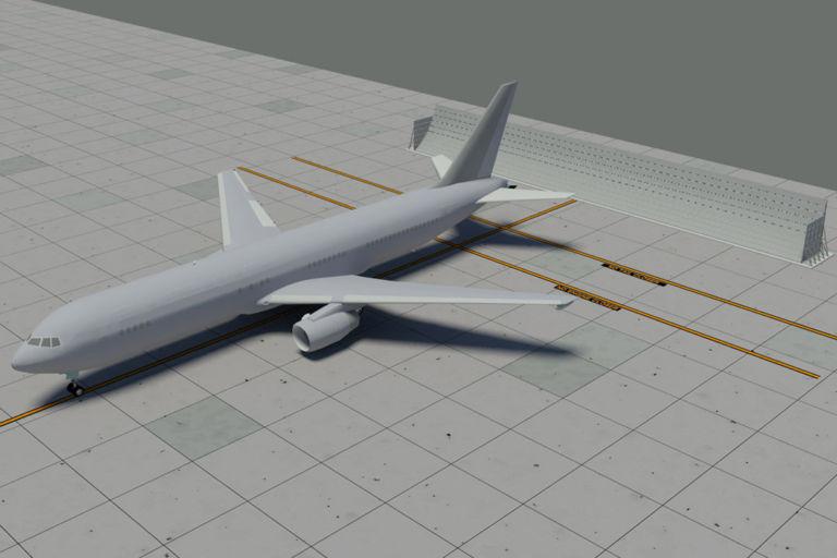 U19-3 Jet Blast Deflector