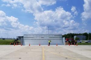 NAS Pax River Jet Blast Barrier