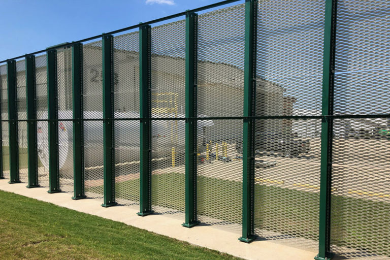 Birmingham Jet Blast Fence