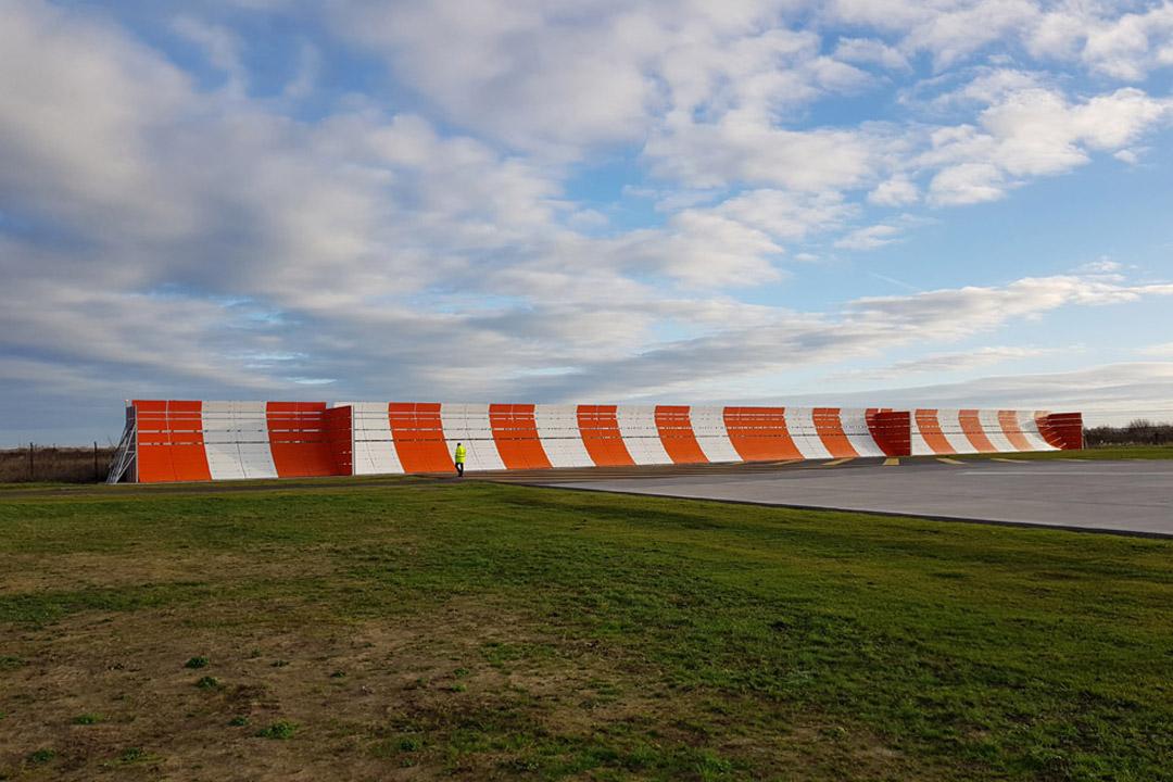 Airbus Runway Jet Blast Wall