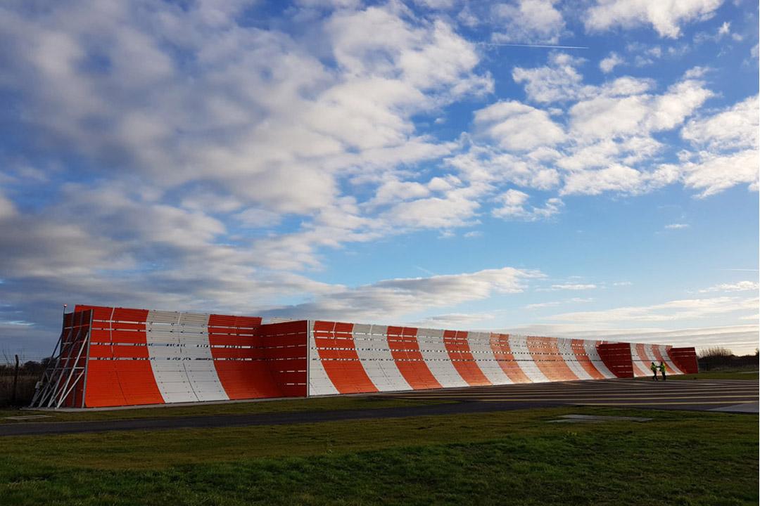 Airbus Runway Jet Blast Fence