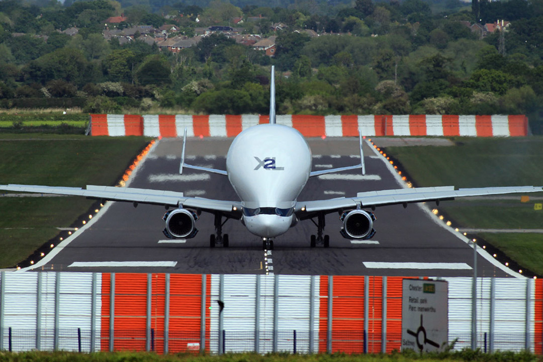 Airbus Jet Blast Deflector