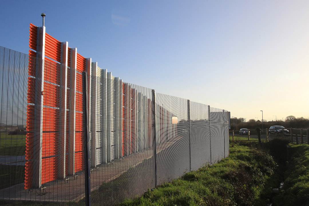 Airbus Frangible Blast Fence