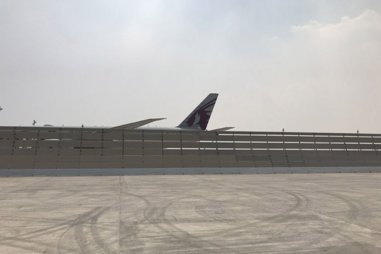 Doha Jet Blast Deflector Relocation