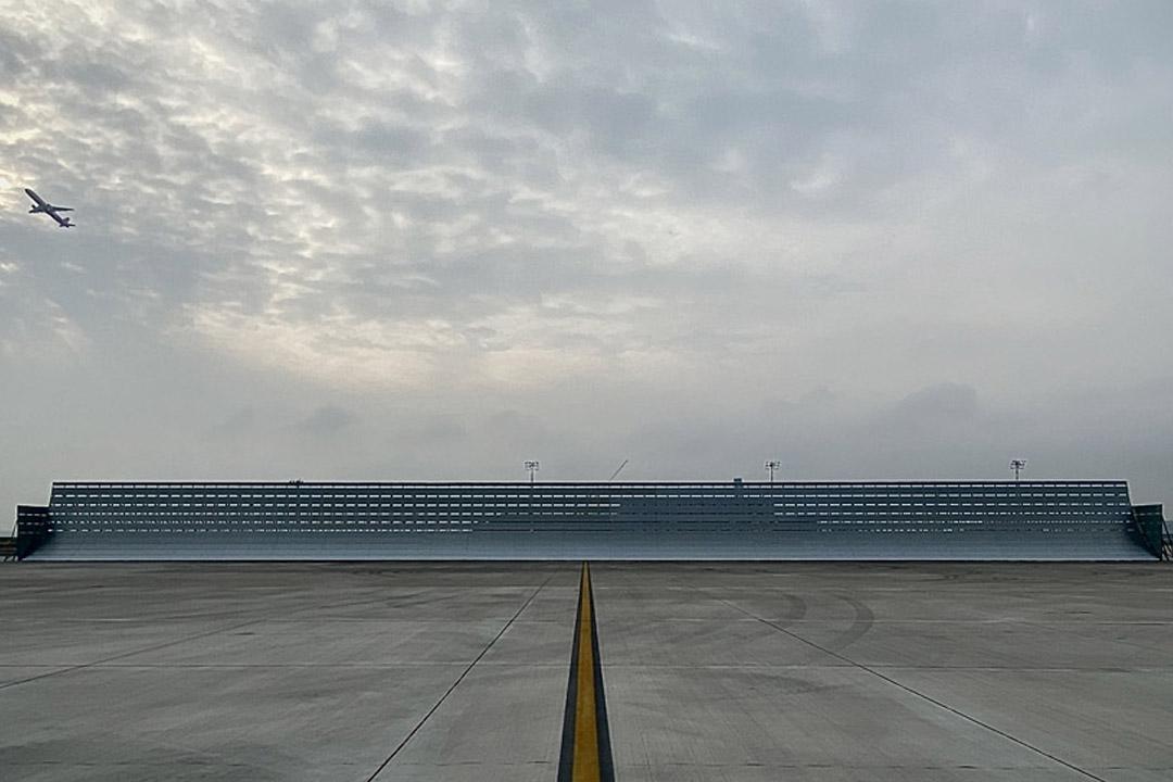 Full Power Jet Blast Screen, Istanbul