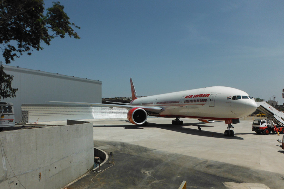 Air India Jet Wake Fence