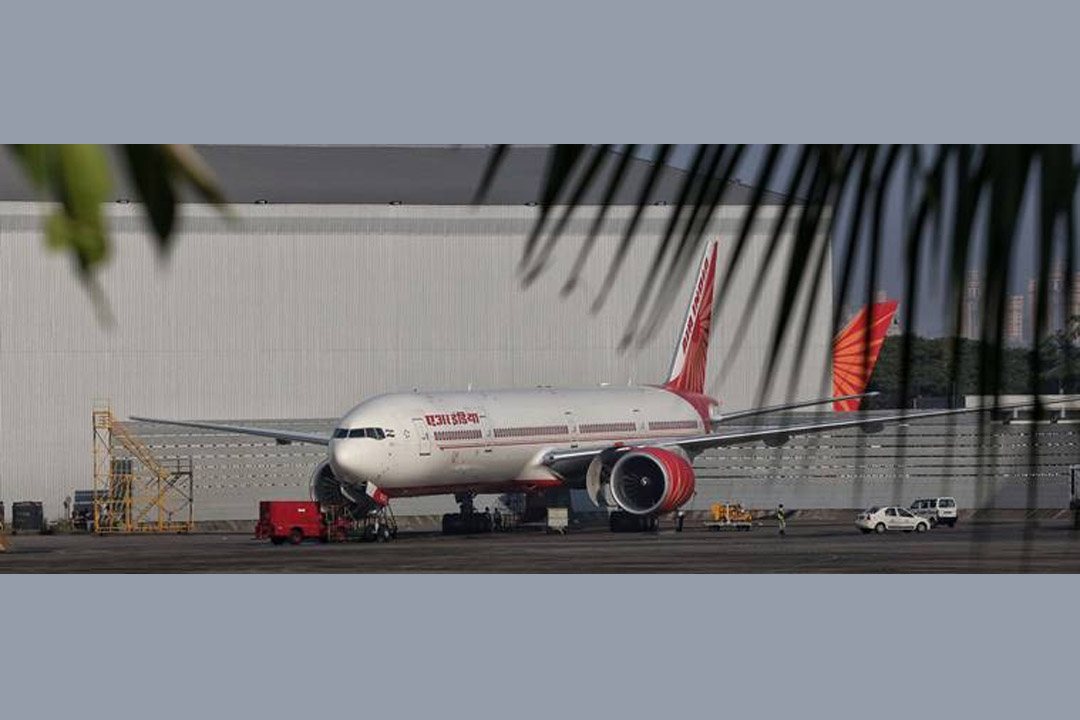 Air India Jet Wake Barrier