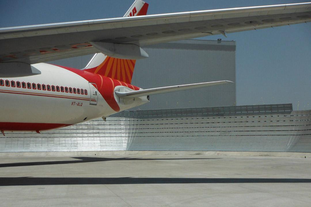 Air India Jet Blast Barrier
