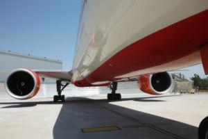 Air India Jet Wake Deflector