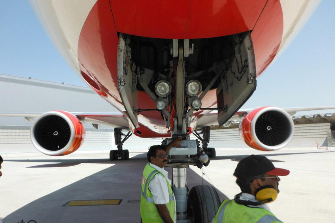 Air India Jet Blast Deflector