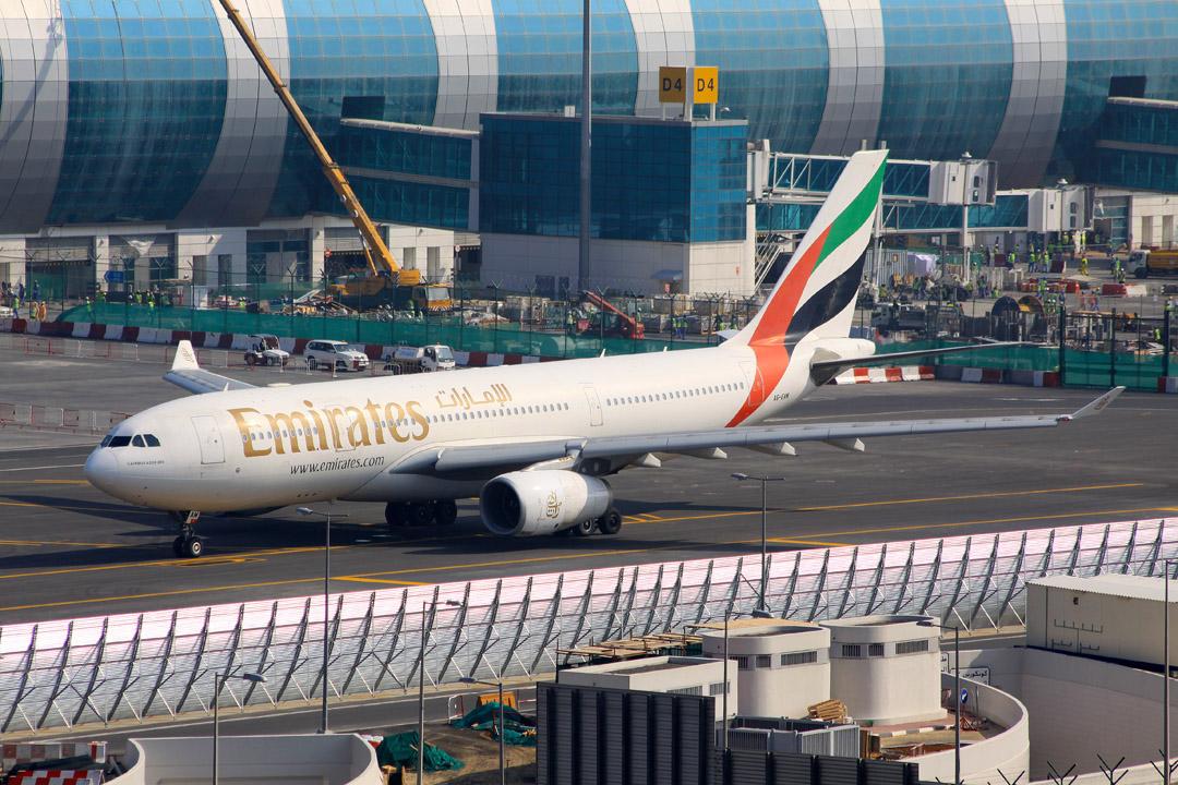 Dubai Jet Blast Barrier