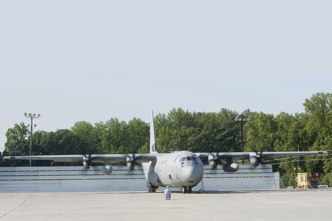 C-130 Jet Blast Deflector