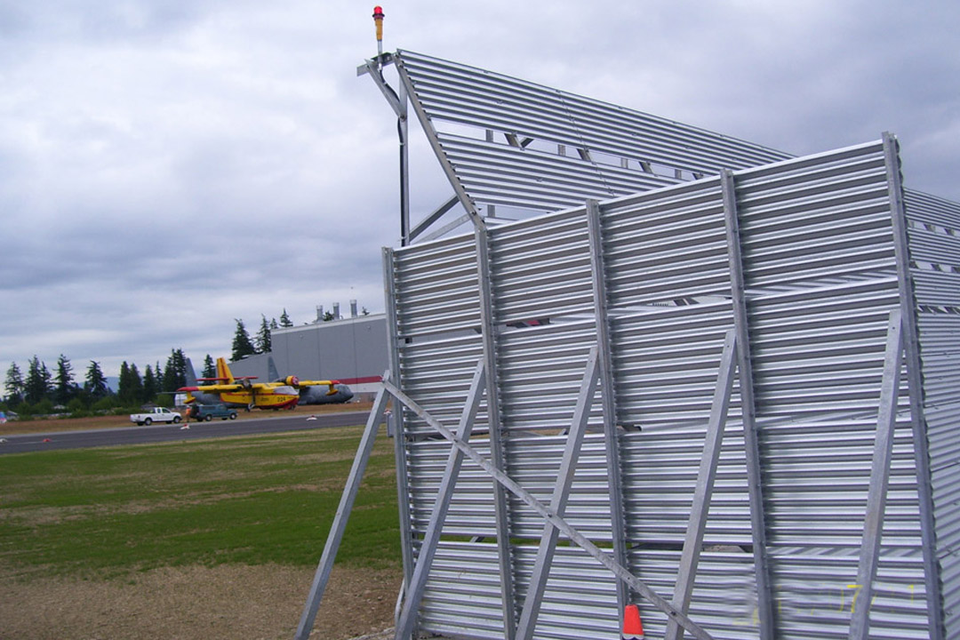 Abbotsford Jet Blast Barrier