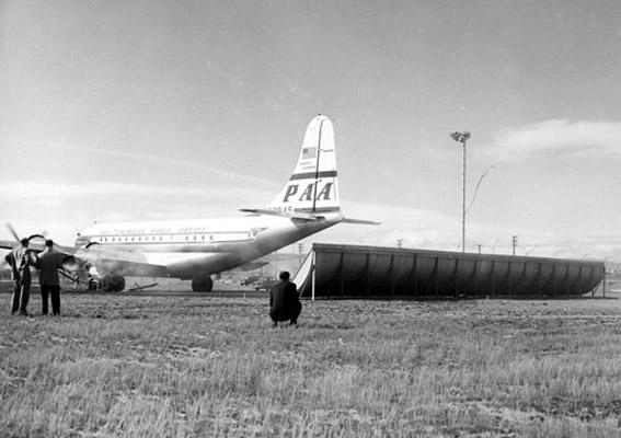 Boeing Jet Blast Deflector
