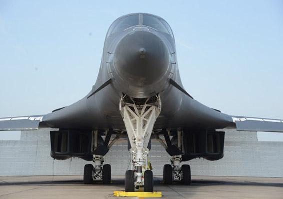B-1B Bomber Jet Blast Deflector