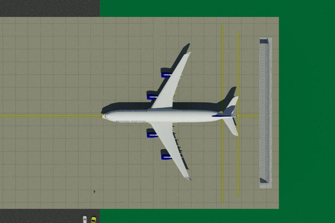 Aerolineas Jet Blast Fence