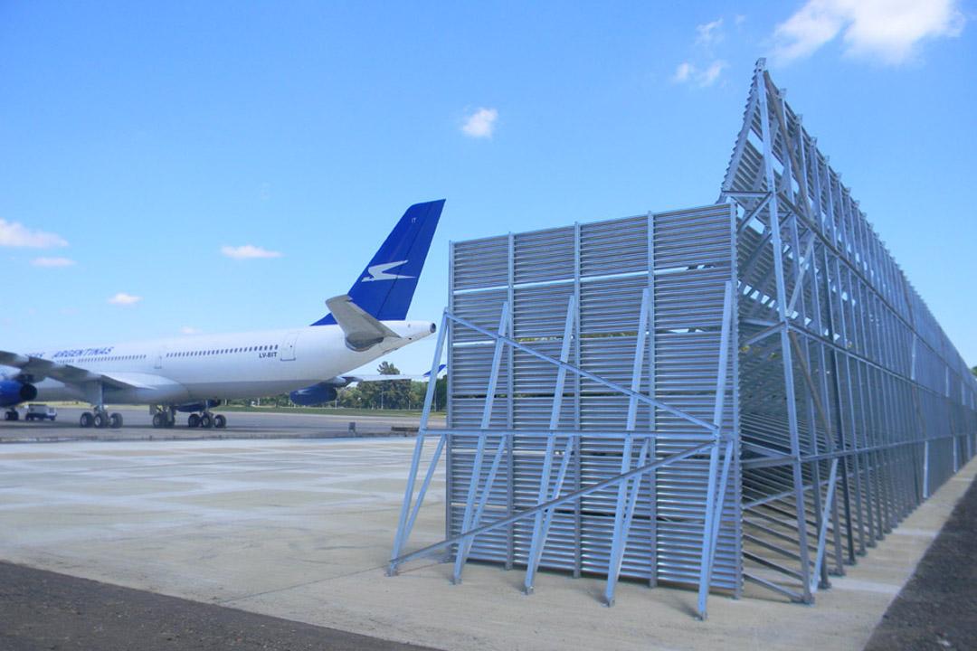 Aerolineas Jet Blast Deflector