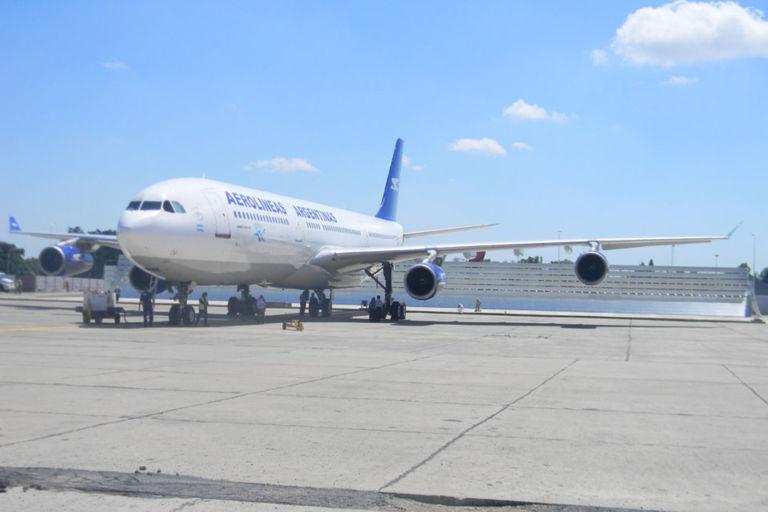 Aerolineas Jet Blast Screen