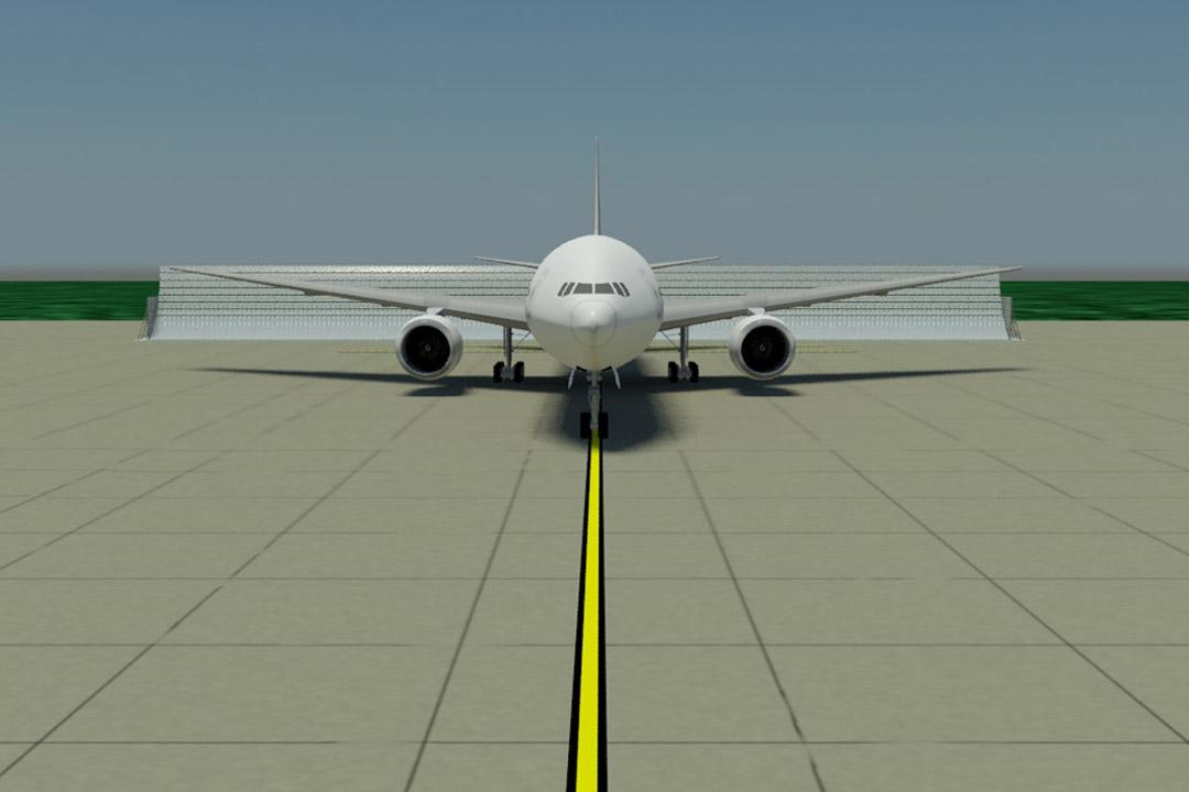 Nagpur Jet Blast Screen