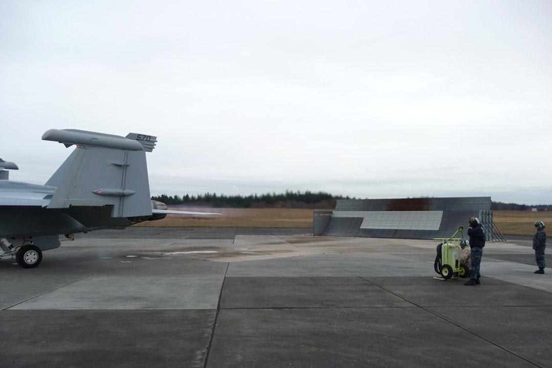NAS Whidbey Island Jet Blast Barrier