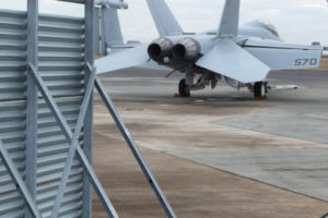 NAS Whidbey Island Jet Blast Deflector