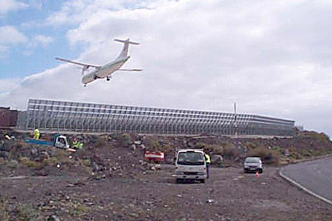 La Palma Jet Blast Deflector