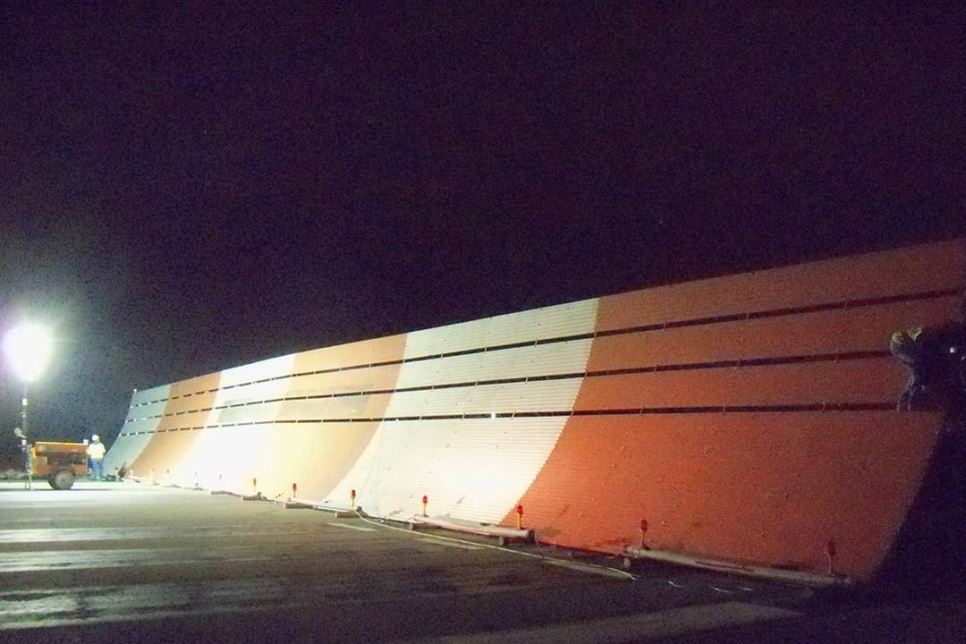 Van Nuys Run-up Jet Blast Barrier