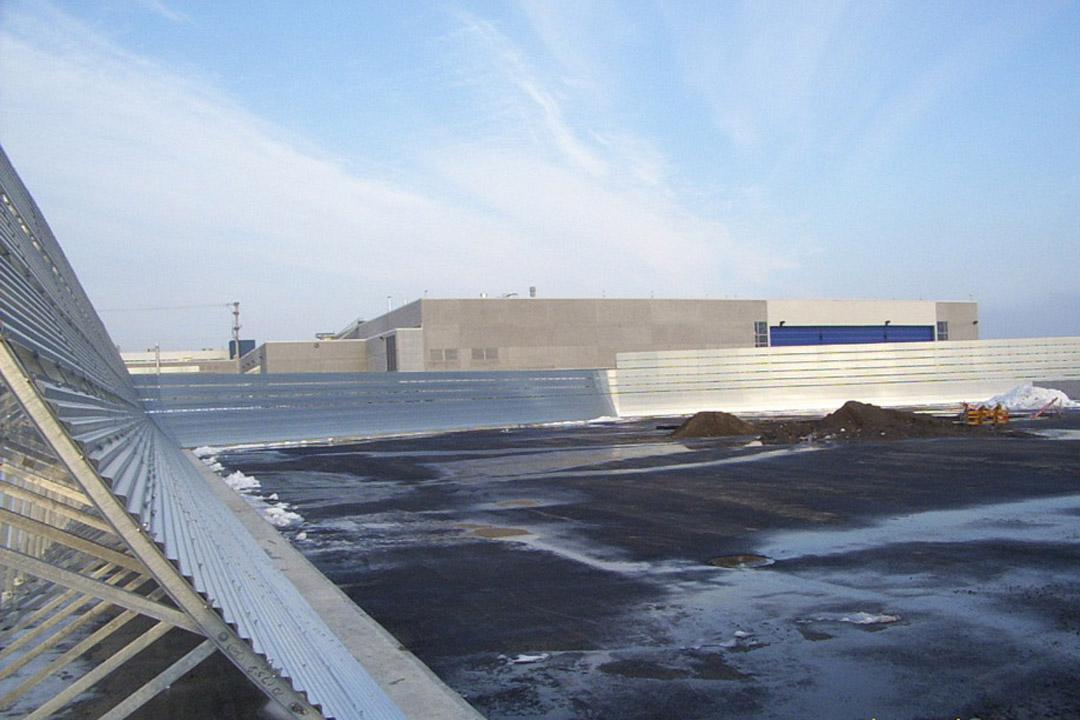 Bombardier Jet Blast Wall