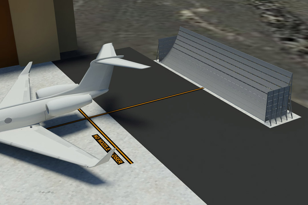 Al Musannah Jet Blast Barrier