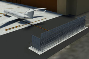 Al Musannah Jet Wake Fence
