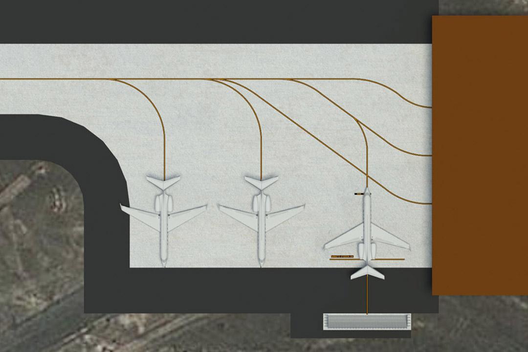 Al Musannah Jet Wake Deflector
