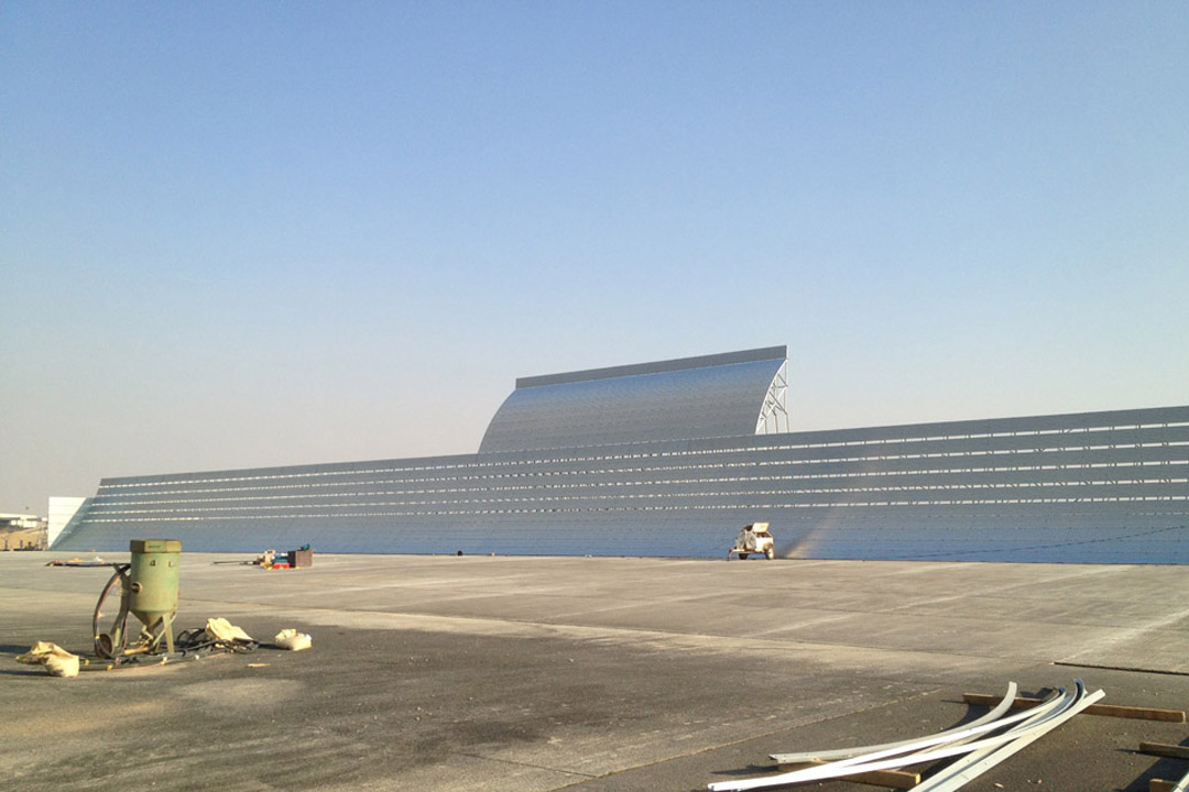 Jeddah Run-up Jet Blast Fence