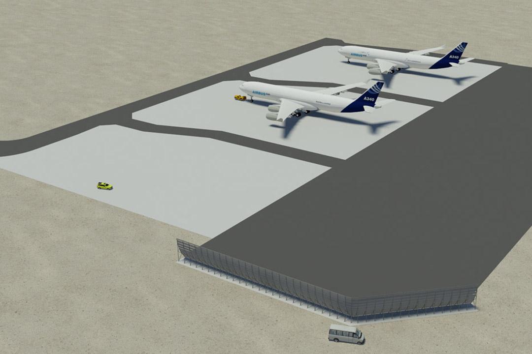 Medina G20NB-6 Jet Blast Wall