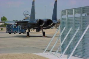 Seymour Johnson Jet Blast Deflector
