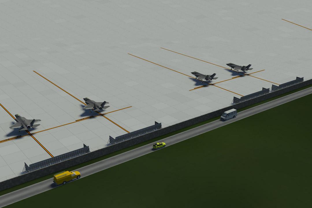 Cameri LMA Jet Wake Deflector