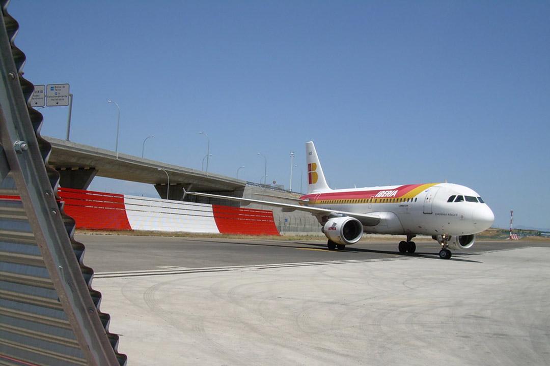 Madrid Jet Blast Deflector