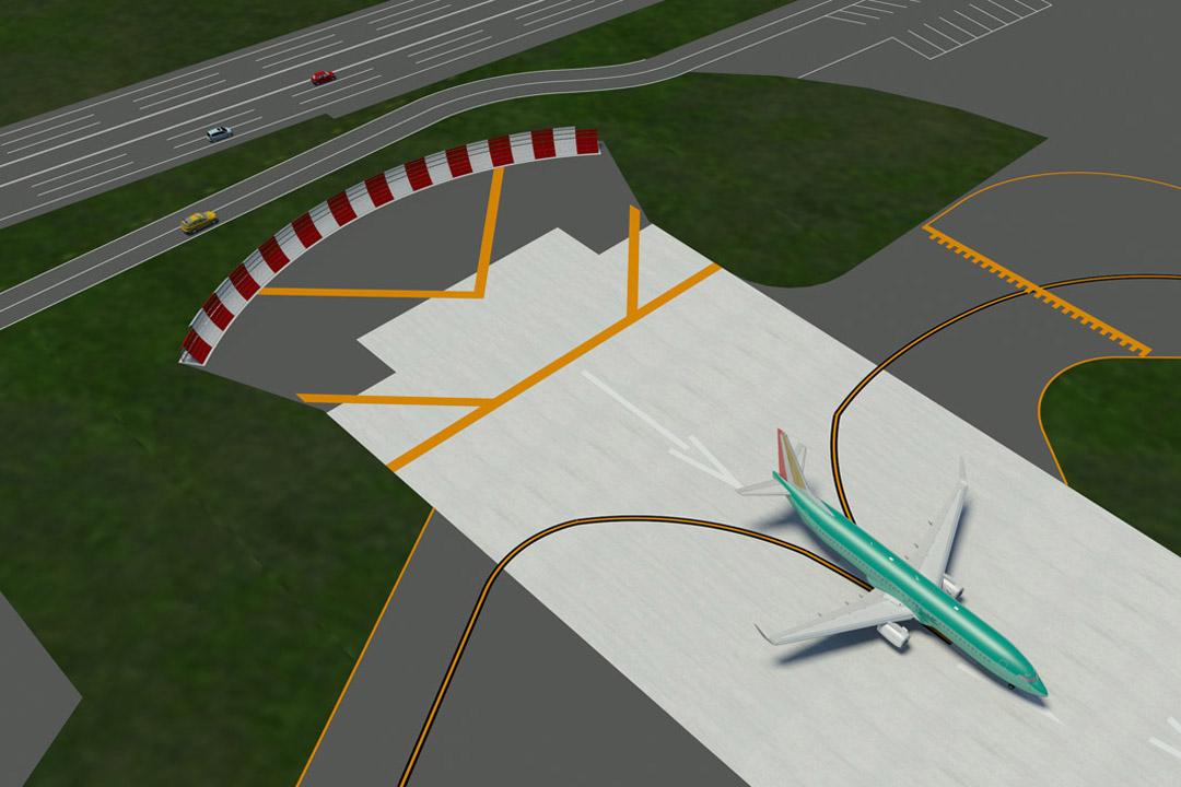 Renton Jet Blast Deflector