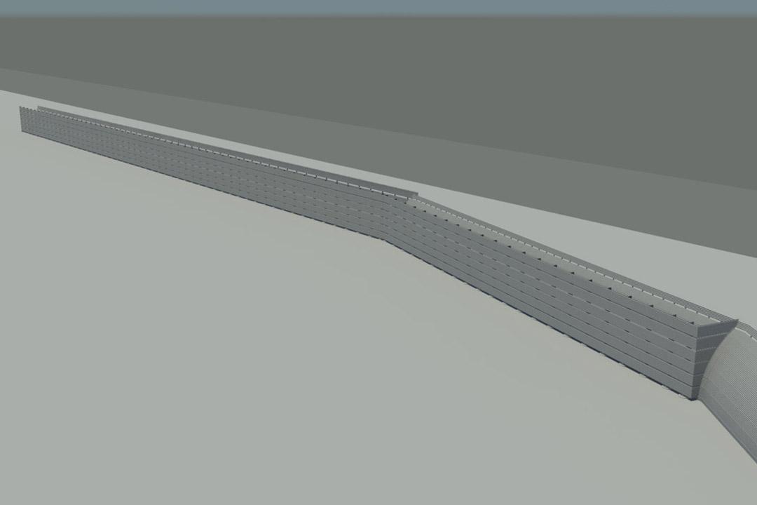 SAN Jet Blast Barrier