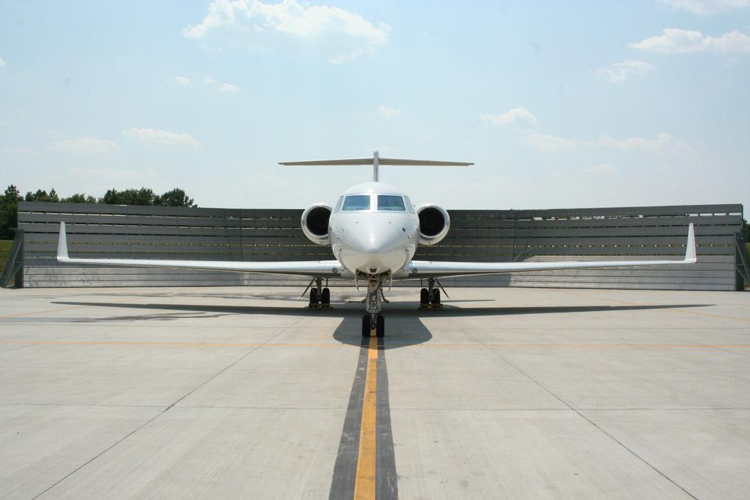 Gulfstream Run-up Deflector