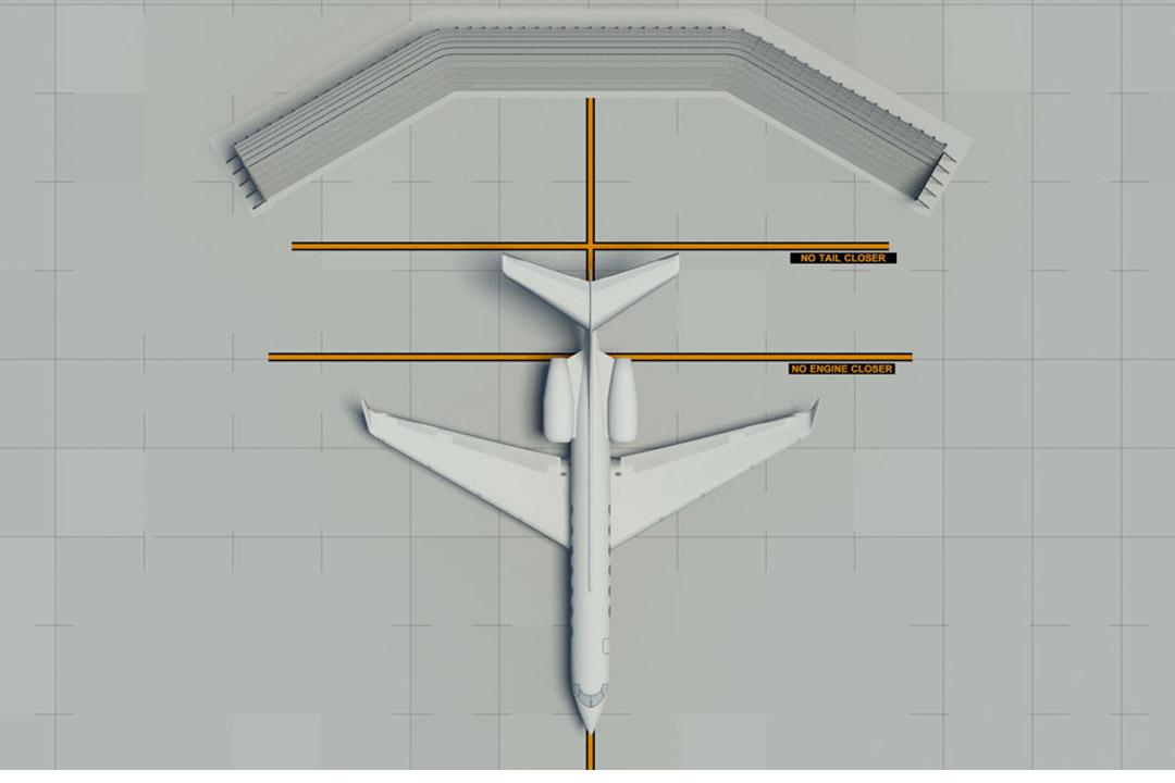 Gulfstream Run-up Wall