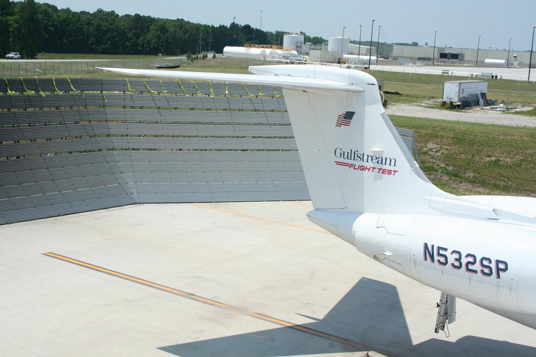 Gulfstream Run-up Fence