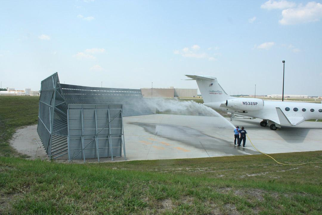 Gulfstream Run-up Barrier