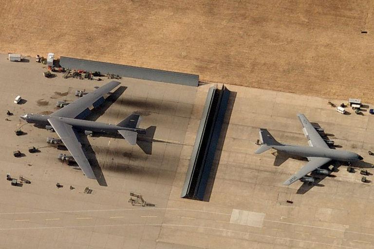 Tinker AFB Jet Blast Deflector